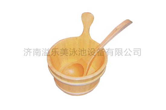 小木桶木勺